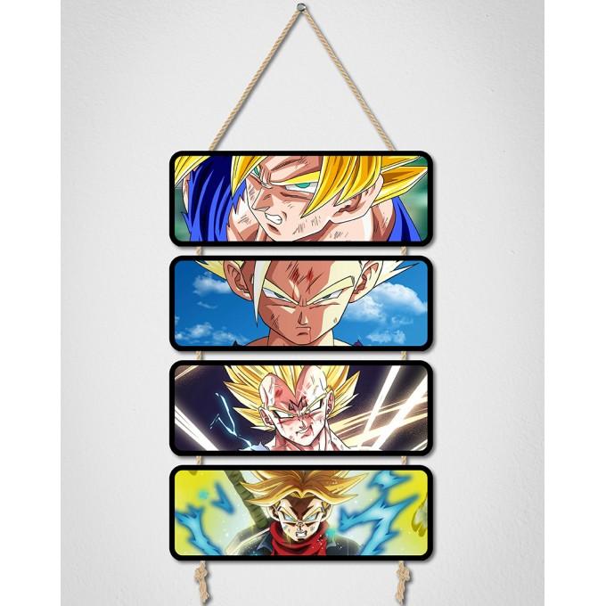 Placas Decorativas - Dragon Ball