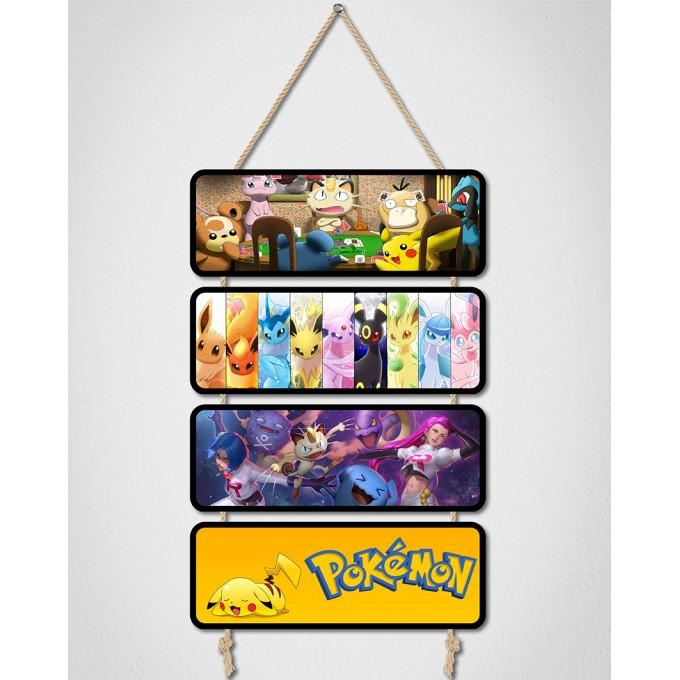 Placas Decorativas - Pokemon