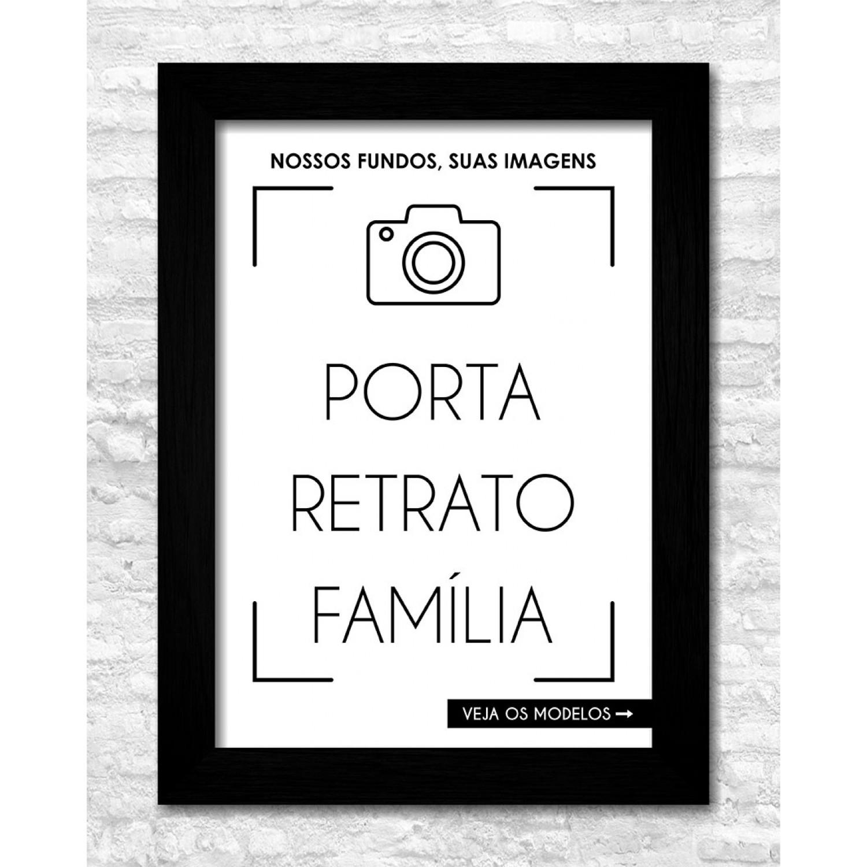 Porta Retratos - Família