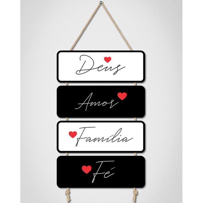Placas Decorativas - Antes de tudo...