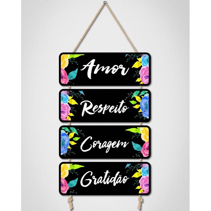 Placas Decorativas - Amor...