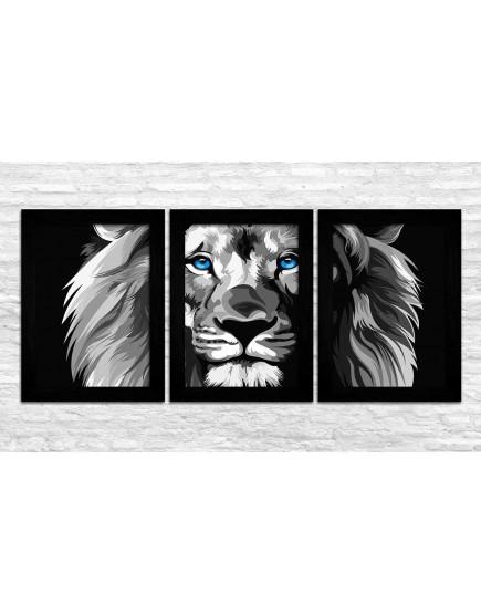 KIT 3 - Leão