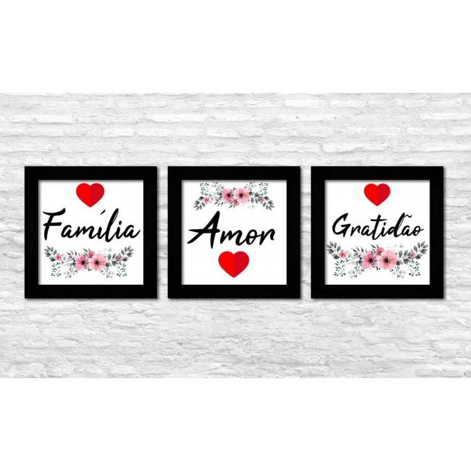 Mini Kit 3 - Família, Amor...