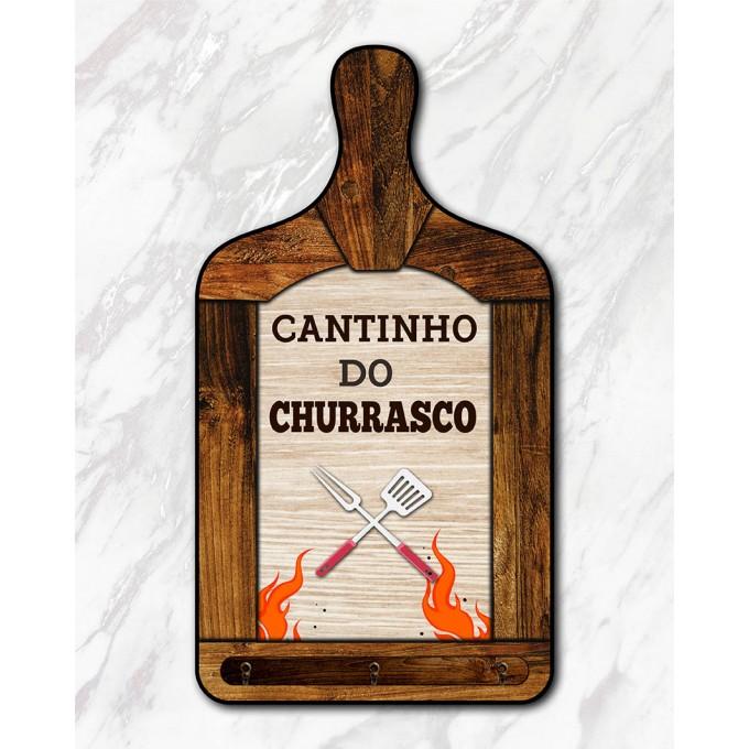 Tábua Decorativa - Churrasco