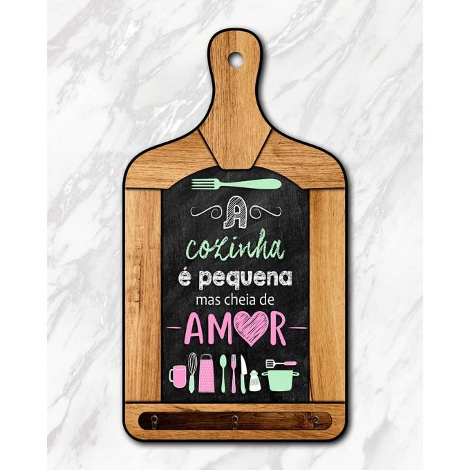 Tábua Decorativa - A cozinha