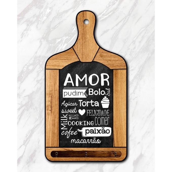 Tábua Decorativa - Amor