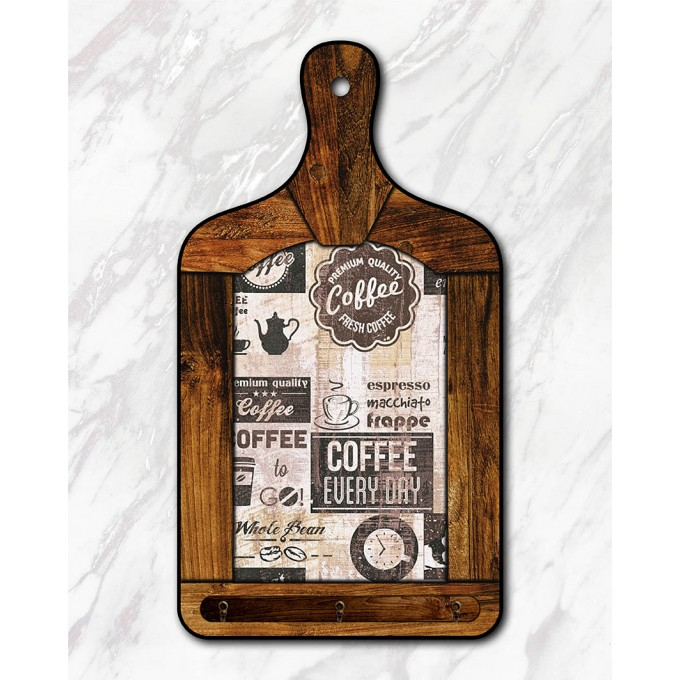 Tábua Decorativa - Café