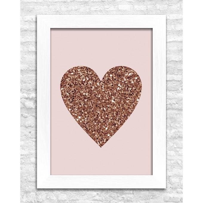 Coração - Glitter