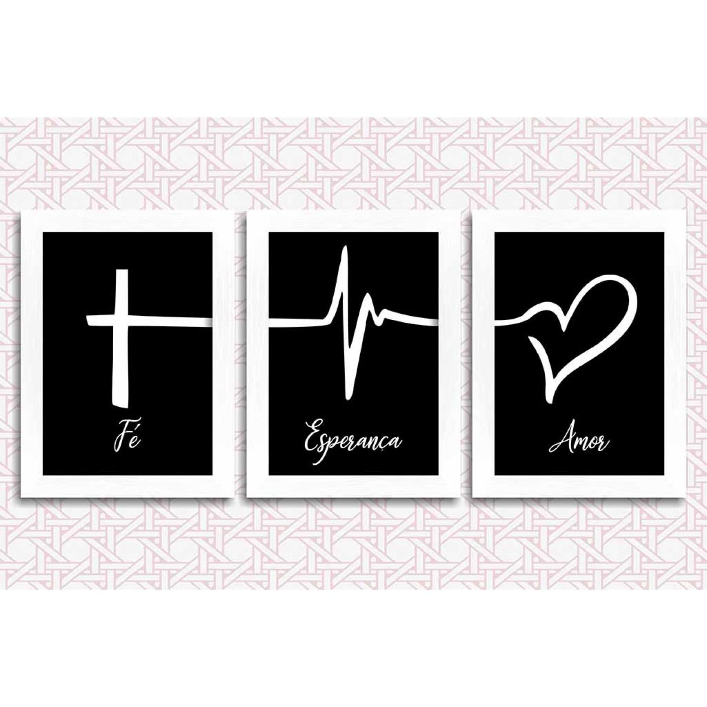 KIT 3 - Fé, Esperança e Amor
