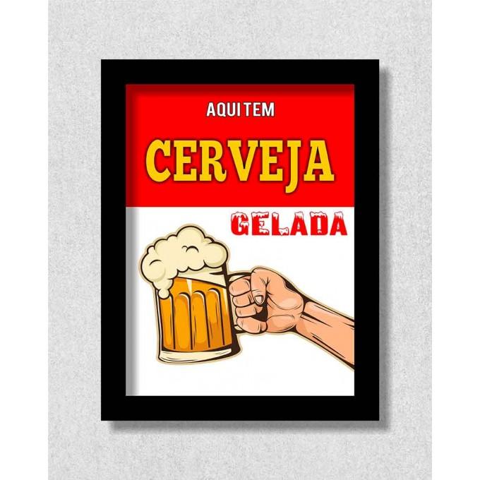 Aqui tem cerveja gelada